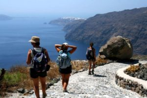 Caldera Trail to Oia